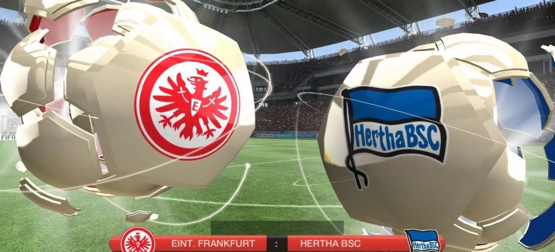Hertha Vs Frankfurt